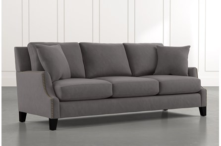 Kayla Dark Grey Sofa