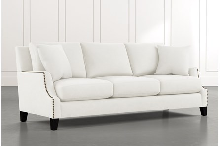Kayla White Sofa