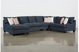 "Sierra Down III 3 Piece 157"" Sectional With Left Arm Facing Chaise"
