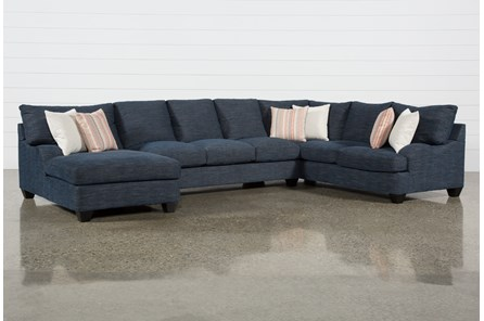 Sierra Down III 3 Piece Sectional With Left Arm Facing Chaise