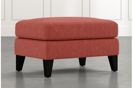 Avery II Red Ottoman