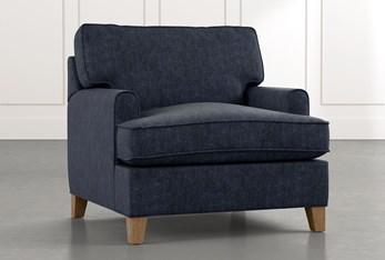 Emerson II Navy Blue Chair