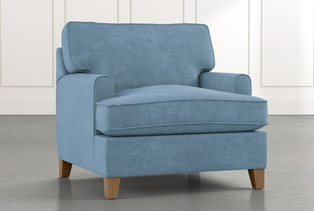Emerson II Light Blue Chair