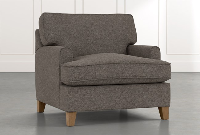 Emerson II Dark Grey Chair - 360