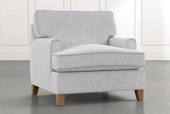 Emerson II Light Grey Chair
