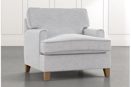Emerson II Light Grey Chair - Main