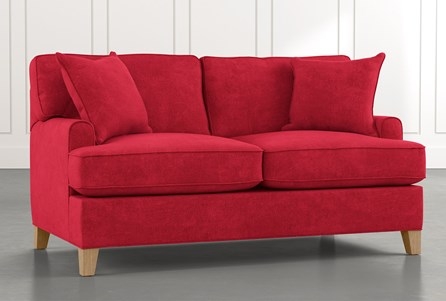 Emerson II Red Loveseat