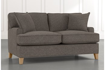 Emerson II Dark Grey Loveseat