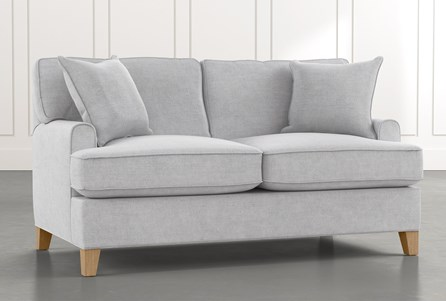 Emerson II Light Grey Loveseat