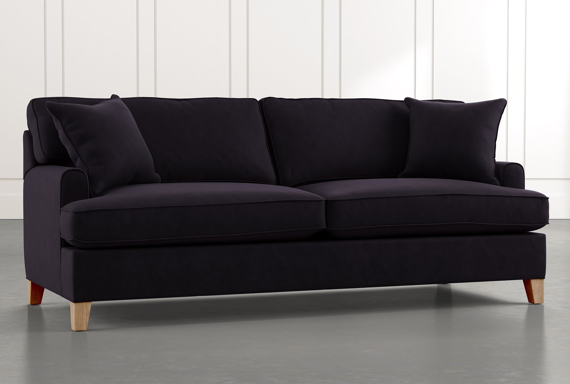 Emerson II Black Sofa