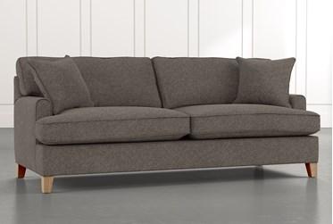 """Emerson II 88"""" Grey Sofa"""