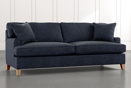 Emerson II Navy Blue Sofa