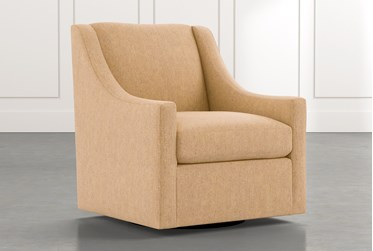 Emerson II Gold Accent Chair