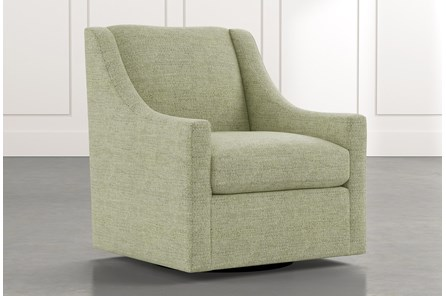 Emerson II Green Accent Chair
