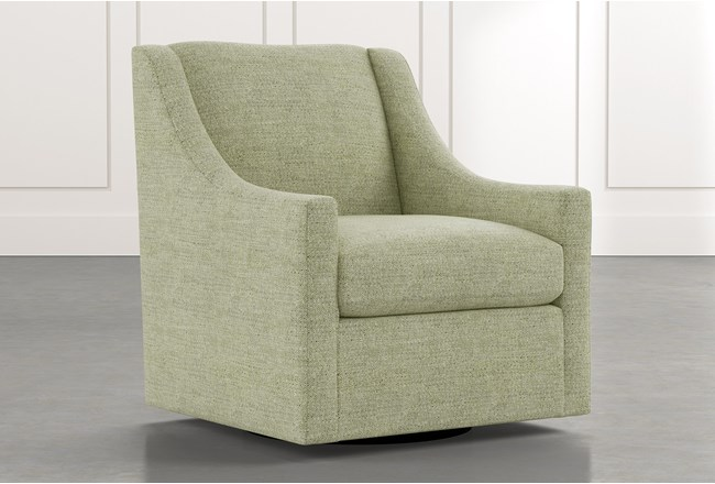 Emerson II Green Accent Chair - 360