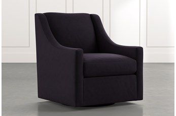 Emerson II Black Accent Chair