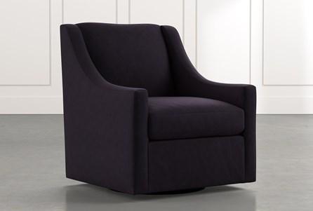 Emerson II Black Accent Chair