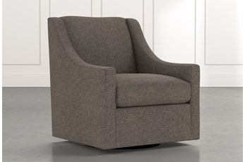 Emerson II Dark Grey Accent Chair