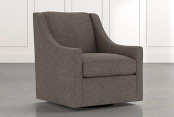 Emerson II Dark Grey Accent Chair