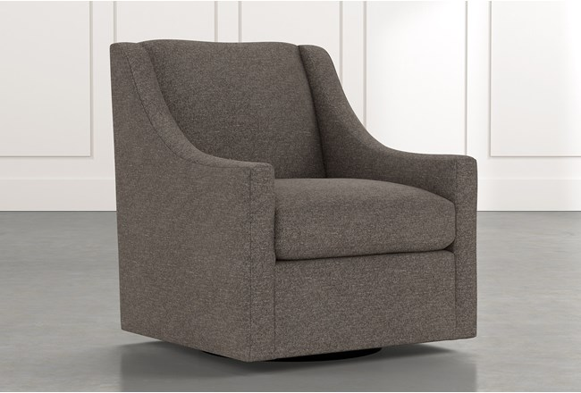 Emerson II Dark Grey Accent Chair - 360