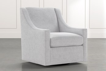 Emerson II Light Grey Accent Chair
