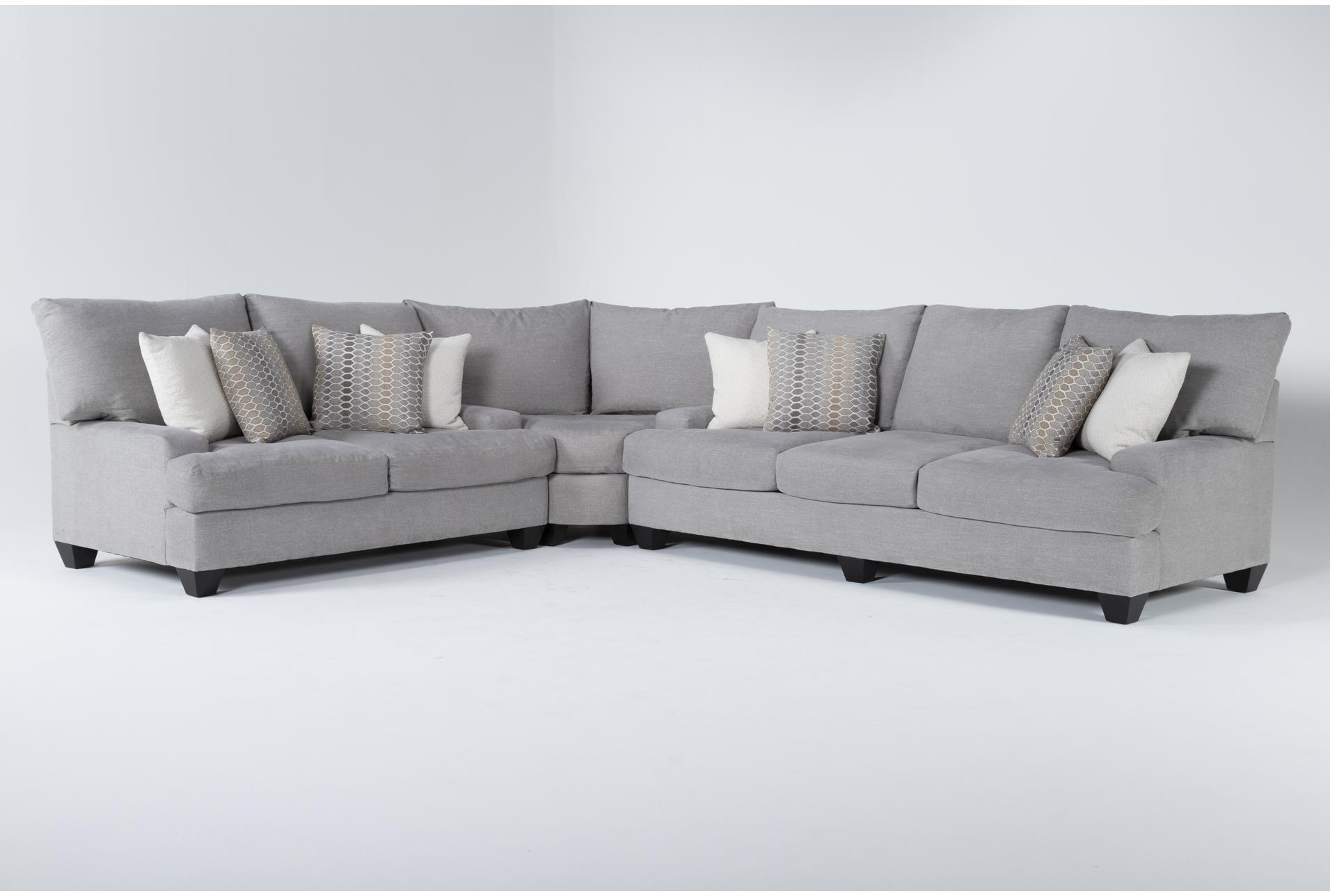 Harper Down II 3 Piece Sectional | Living Spaces