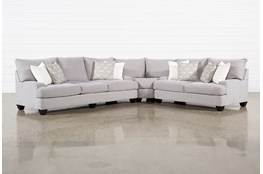 "Harper Down II 3 Piece 143"" Sectional"