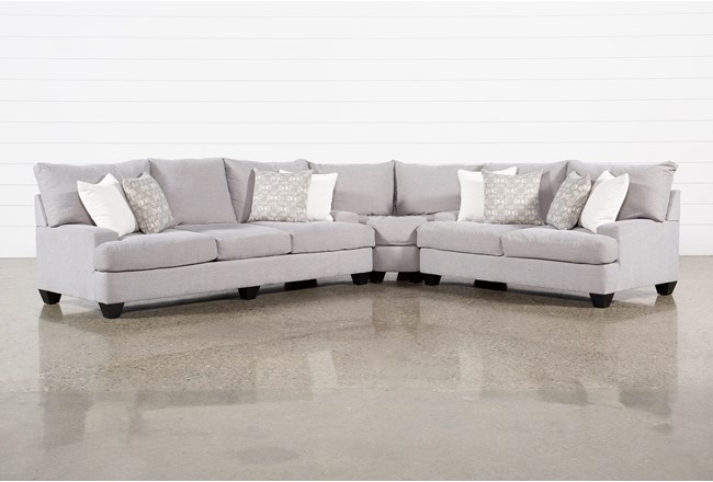 "Harper Down II 3 Piece 143"" Sectional - 360"