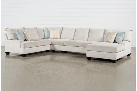 Harper Foam II 3 Piece Sectional With Right Arm Facing Chaise