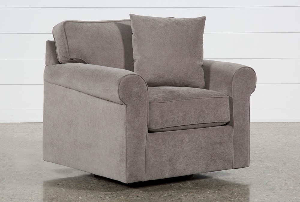 Elm II Foam Swivel Arm Chair