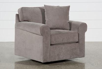 Awe Inspiring Elm Ii Foam Swivel Arm Chair Bralicious Painted Fabric Chair Ideas Braliciousco