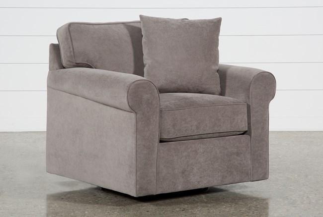 Elm II Foam Swivel Arm Chair - 360