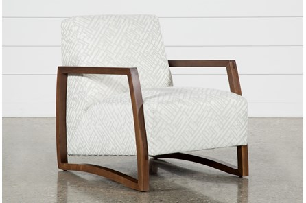 Marshall Platinum Accent Chair