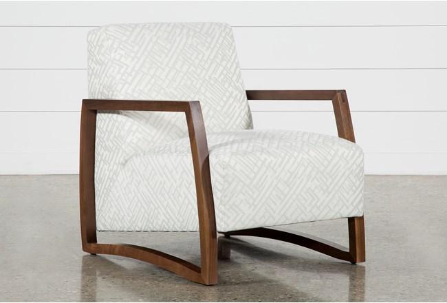 Marshall Platinum Accent Chair - 360