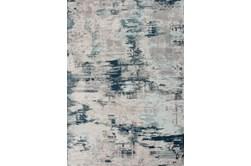 63X90 Rug-Blue Horizon Distressed