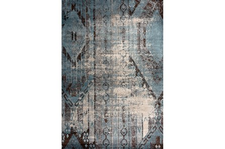 85X126 Rug-Clarkson Denim And Chocolate