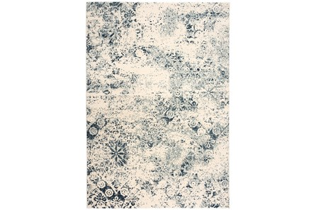 63X90 Rug-Northern Damask Denim
