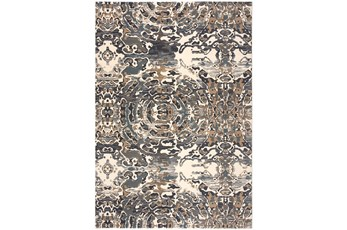 63X90 Rug-Water Rings Taupe And Grey