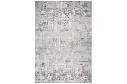 63X90 Rug-Distressed Concrete Grey