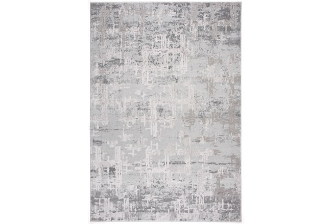 63X90 Rug-Distressed Concrete Grey - 360