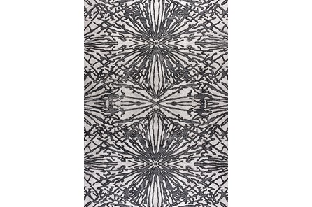 85X126 Rug-Kaleidoscope Grey