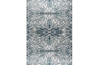 63X90 Rug-Kaleidoscope Slate