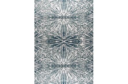 85X126 Rug-Kaleidoscope Slate