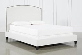 Olivia Eatsern King Upholstered Panel Bed