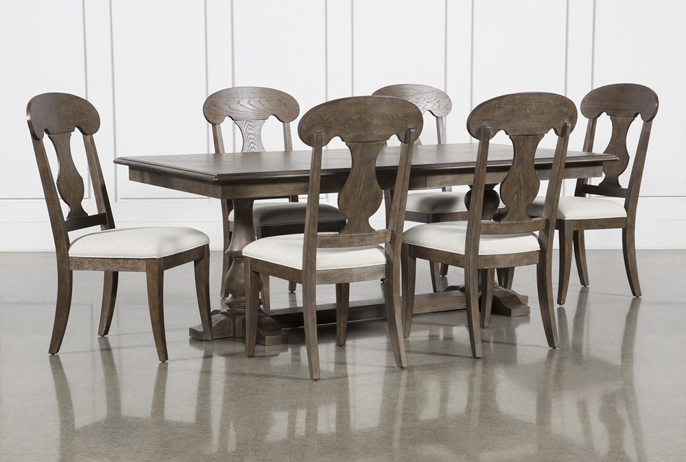 Chapman 7 Piece Extension Dining Set With Side Chairs