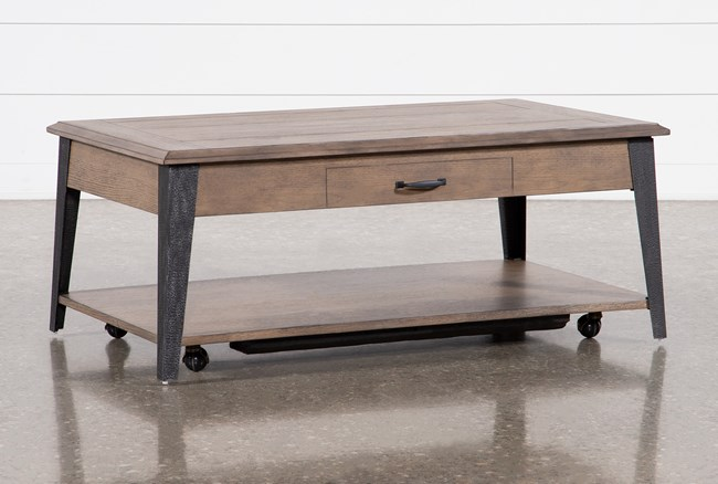 Butler Lift-Top Coffee Table - 360