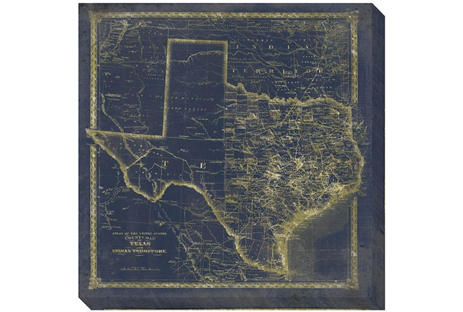 Picture-Tx Map Navy and Gold - 360