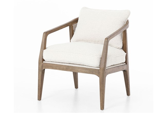 Knoll Natural Distressed Natural Accent Chair Living Spaces