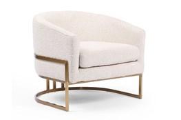 Knoll Natural Satin Brass Chair