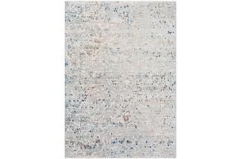 60X39 Rug-Slate & Copper Pebbles